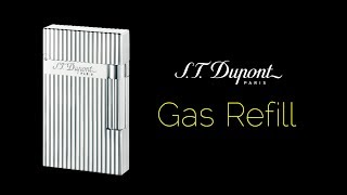 Gas Refill How To Guide on S.T. Dupont Ligne 2 Lighter 2019