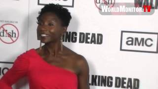 Jeryl Prescott arrives at The Walking Dead Season 3 premiere