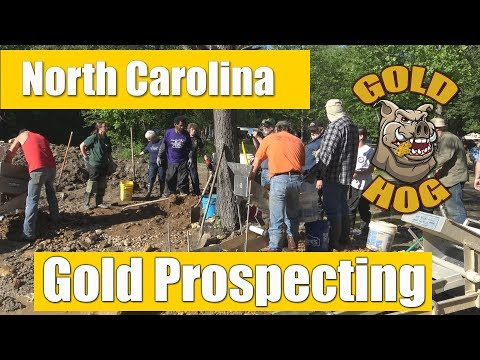 North Carolina Gold Prospecting 2017