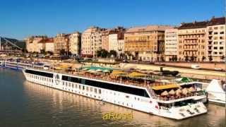 Fluss-Kreuzfahrt-Schiffe auf der Donau
