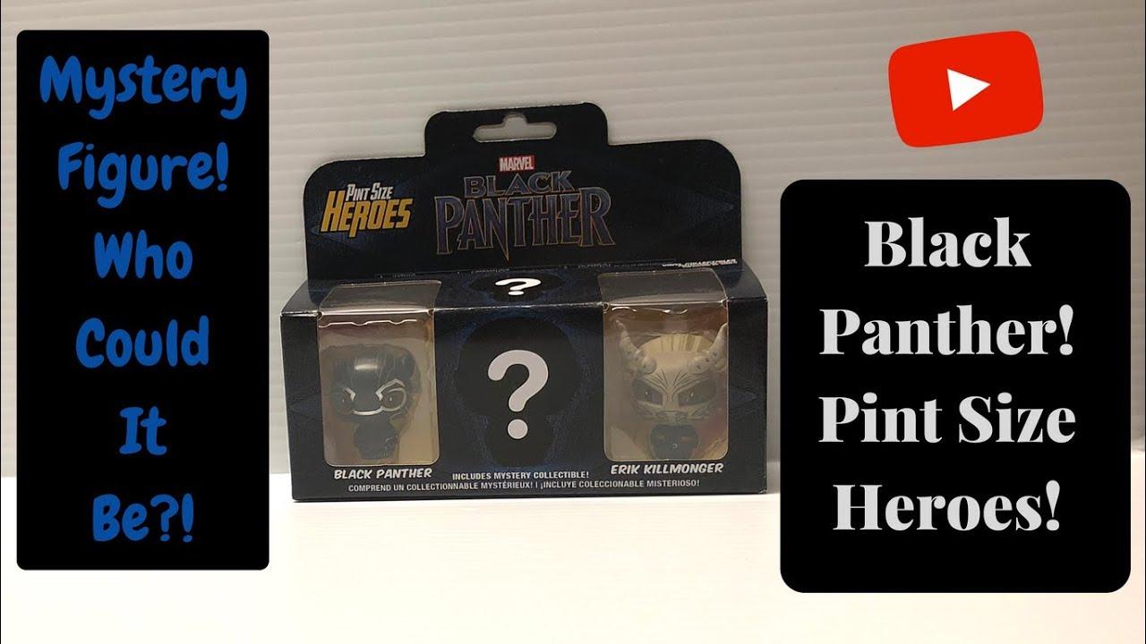 Funko Pint Size Heroes Marvel Disney Black Panther Nightmare Before Christmas +