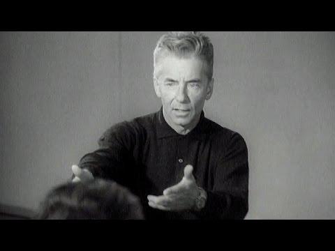 Masterclass with Herbert von Karajan