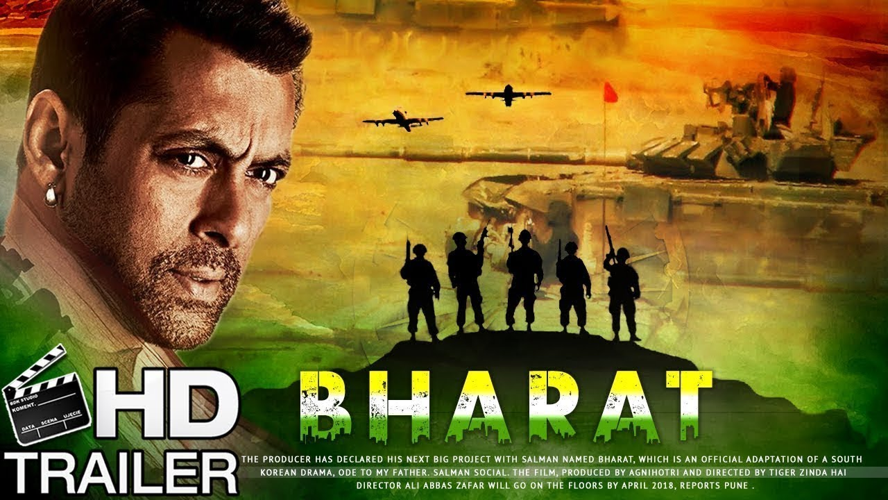New Hindi Movei 2018 2019 Bolliwood: Bharat Movie Trailer Teaser