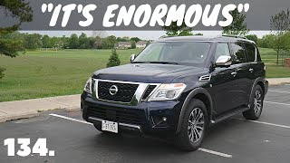 2019 Nissan Armada SL // review, walk-around, and test drive // 100 rental cars