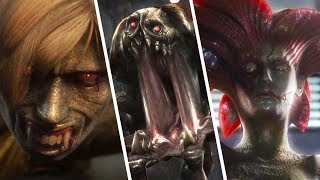 Resident Evil The Darkside Chronicles - All Bosses With Cutscenes & Ending