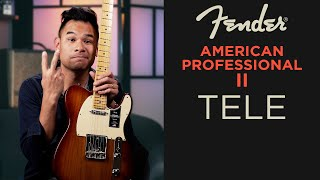 Fender American Pro II TELECASTER - Played Like A Pro