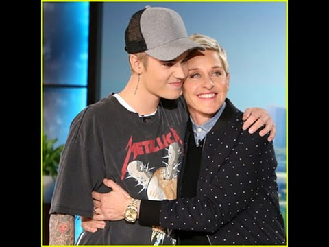 Justin Bieber Returns to 'Ellen,' - Talks about leaked Full Frontal Pics & Selena Gomez