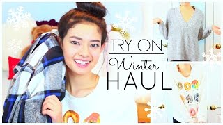 TRY ON WINTER HAUL! Forever21 + Urban Outfitters + PINK! Thumbnail