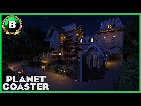 Ghoster's haunted asylum! Builder Entry 09 Halloween Contest #PlanetCoaster