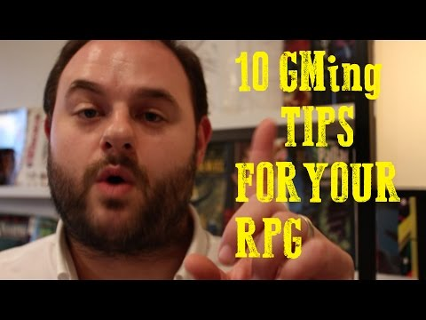 Table Top Role Playing Game - 10 GM Tips For Your RPG (Any System)