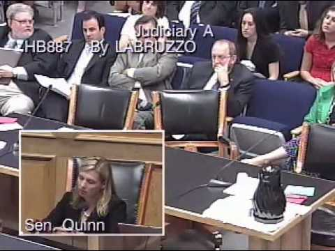 "HB 887 rethug slug-fest in louisiana senate judiciary ""a"""