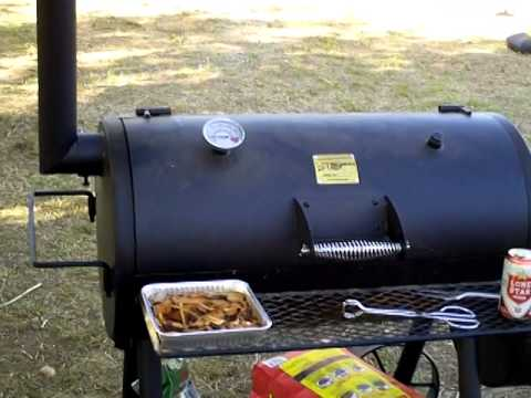 oklahoma joe highland bbq texas style youtube. Black Bedroom Furniture Sets. Home Design Ideas