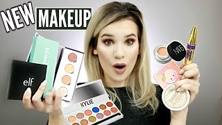 FULL Face TESTING ALL NEW MAKEUP! Nars Soft Concealer, ColourPop Shadows & MORE!