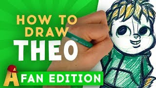How-To-Draw Theodore Fan Edition! | Alvin and the Chipmunks