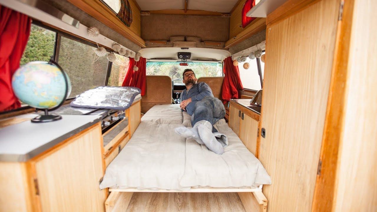 Creation Dun Lit Sur Mesure Pour Le Van Tutoriel Aménagement Du Van