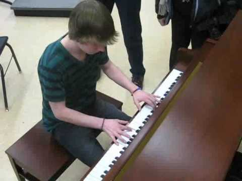 Schmitt Music gives piano to Irondale High School -