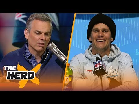 Colin details how he thinks Super Bowl LII will play out for the New England Patriots | THE HERD
