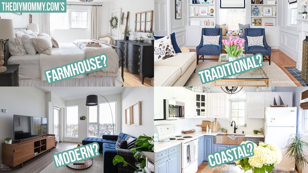 How To Find Your Decorating Style 3 Steps 8 Common Styles Youtube