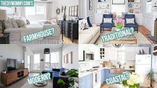 How to Find Your Decorating Style | 3 Steps & 8 Common Styles!