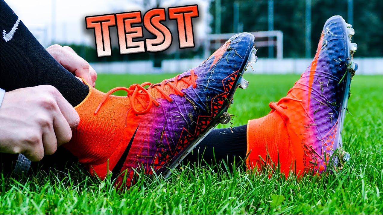 9eaa9e3bf TEST AUBAMEYANG BOOTS  Nike Hypervenom Phantom 2 - YouTube