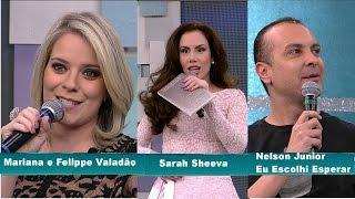 """""""HD"""" Mariana e Felippe Valadão, Sarah Sheeva e Nelson Junior - Superpop - 10/06/15 - Completo"""