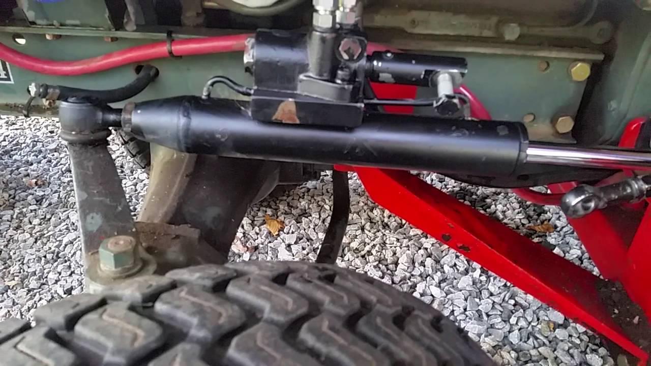 Hoye power steering kit cylinder