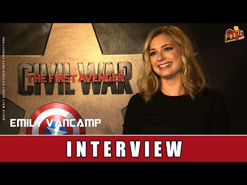 The First Avenger: Civil War - Interview | Emily VanCamp