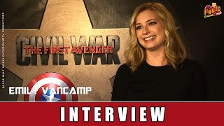 The First Avenger: Civil War - Interview | Emily VanCamp