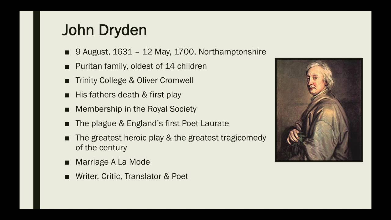 an essay of dramatic poesy by john dryden