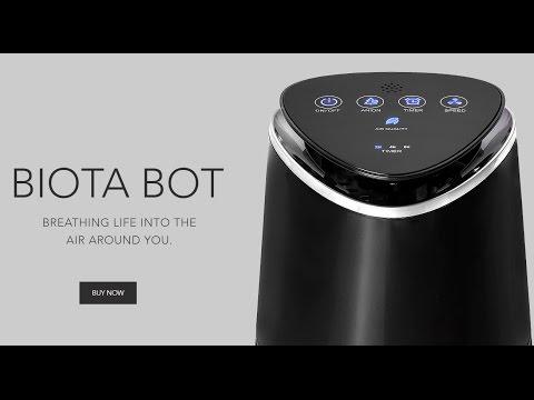 Biota Bot Air Purifier Review – Clean Air Smoke / Pets / Allergies