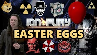 ION FURY All Easter Eggs #1