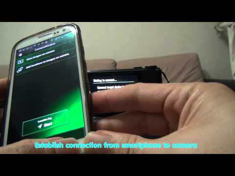 Canon S110 - How To Geotag Images Using Canon Camera Window App At Smartphone