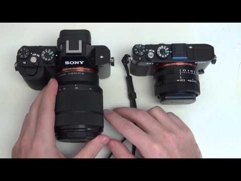 Sony Alpha A7 vs Cyber-shot RX1
