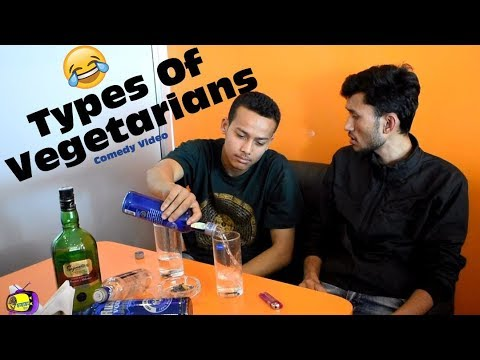 TYPES OF VEGETARIANS || Comedy Video