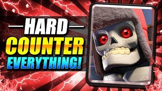 OVERPOWERED!! NEW GIANT SKELETON DECK COUNTERS EVERYTHING!! - Clash Royale