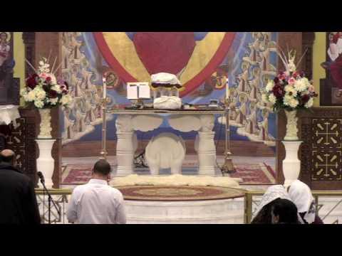 Liturgy February 19, 2017, Saint Pope Kerollos VI Coptic Orthodox Church