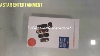Micromax canvas Mega2 plus 4G volte smartphone unboxing and review