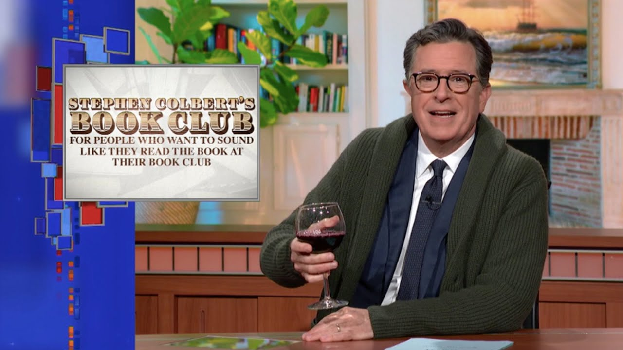 Download Stephen Colbert's Book Club For People Who Want To Sound Like They Read The Book