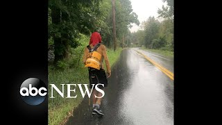 Homeless college student who walked 500 miles surpasses funding goal | WNT