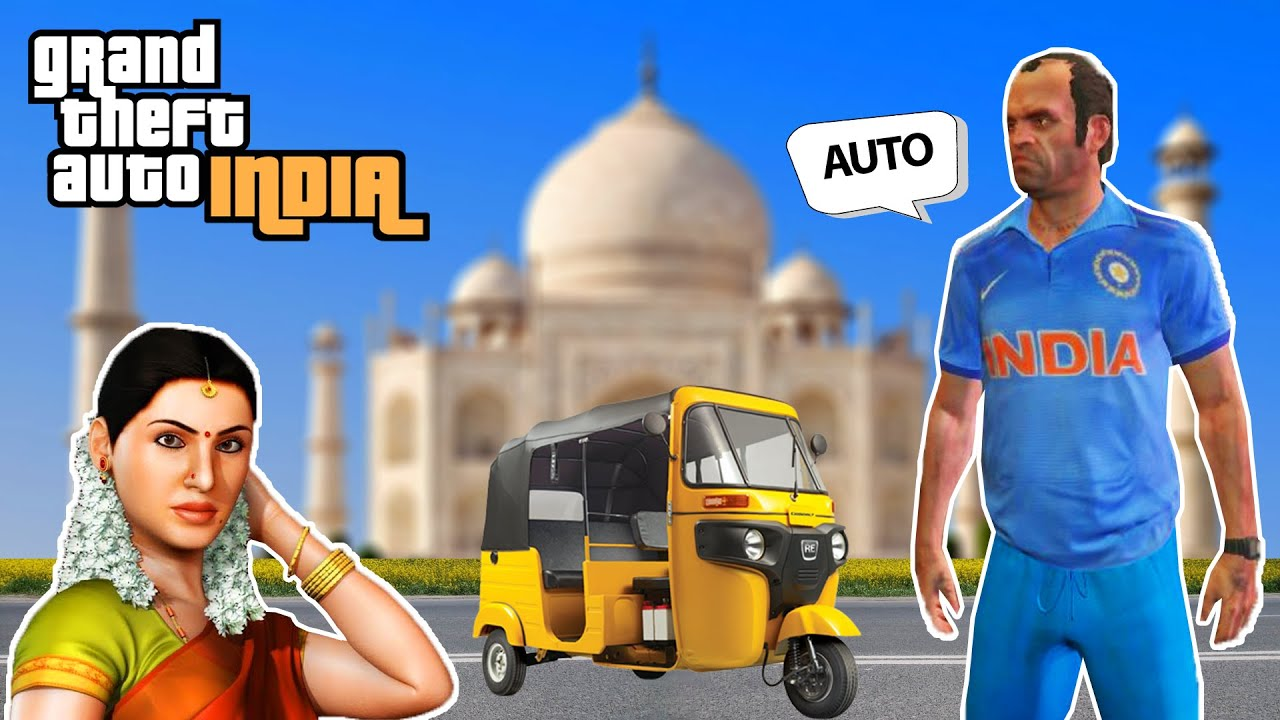 GTA INDIA MOST FUNNY GAME EVER MUST WATCH 😂