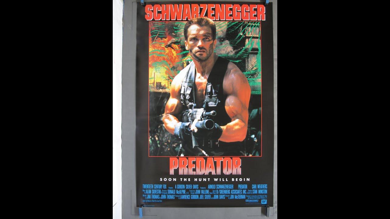 Download Predator (1987) trailer with modern style