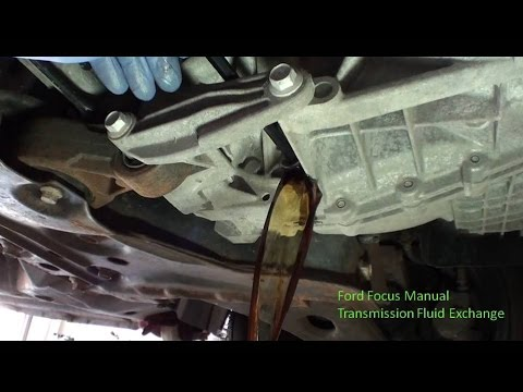 1999-2007 Ford Focus Manual Transmission Fluid Change