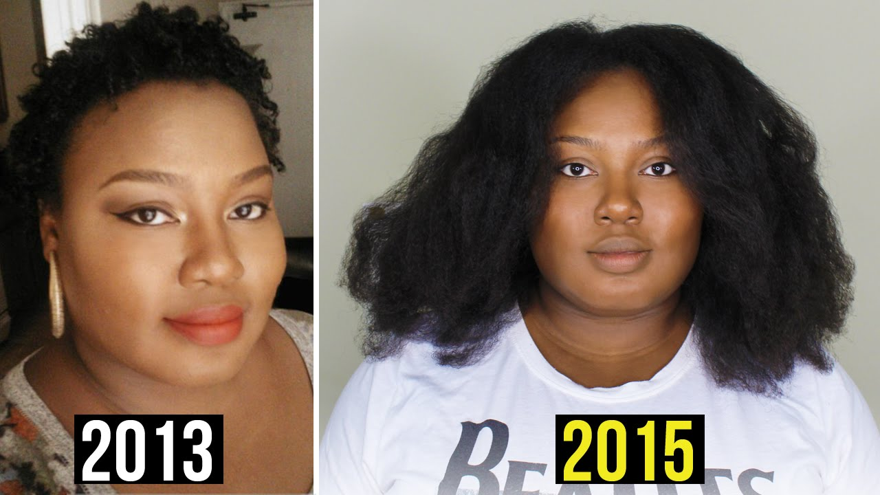 Natural Hair At  Years Post Big Chop