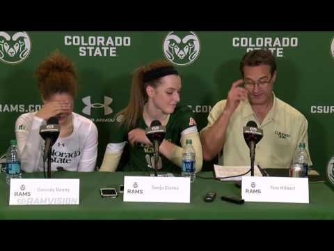 Colorado State Volleyball vs. Wyoming | Post Game Press Conference