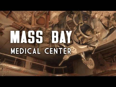 The Full Story of The Mass Bay Medical Center & The Ticker Tape Lounge - Fallout 4 Lore