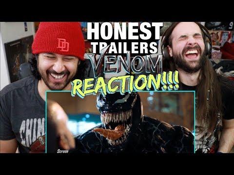 Honest Trailers - VENOM | REACTION!!!