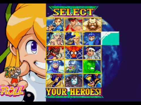 Marvel vs Capcom Hidden Characters Unlock - Project Showcase