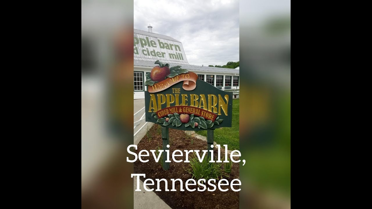 The Apple Barn in Sevierville, Tennessee - YouTube