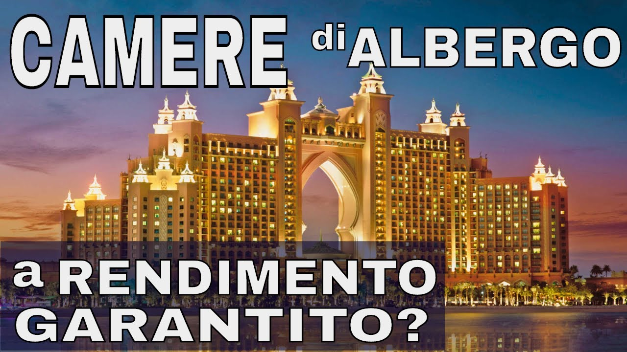 "Dubai: investimenti su camere d'albergo a ""rendita garantita"""