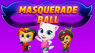Talking Tom Gold Run - New Event Masquerade Ball Gameplay Walkthrough HD